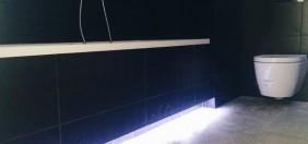 LED podswietlenie pod wanna