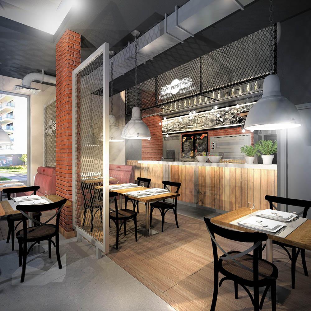 Zaczynamy remont restauracji — pizzeria na Tadeusza Rechniewskiego 11